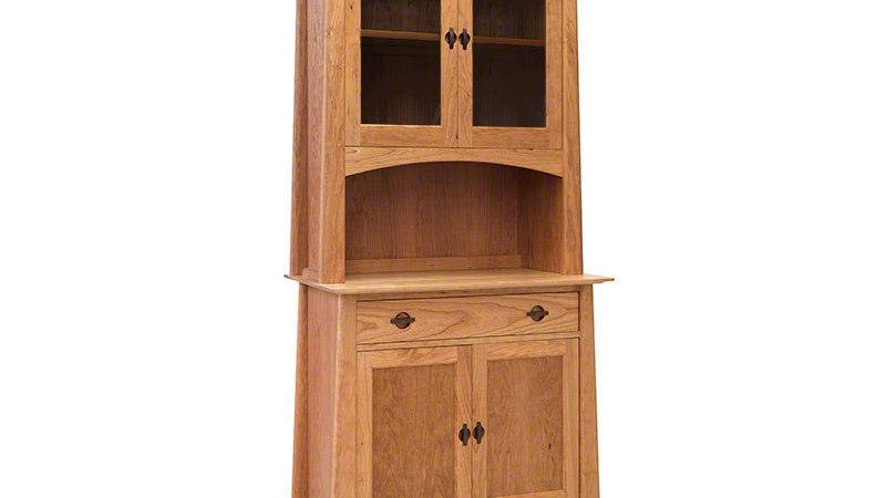 Small Cherry Moon China Cabinet Vermont Woods Studios
