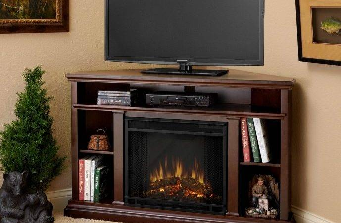 Small Corner Electric Fireplace Stand Ideas