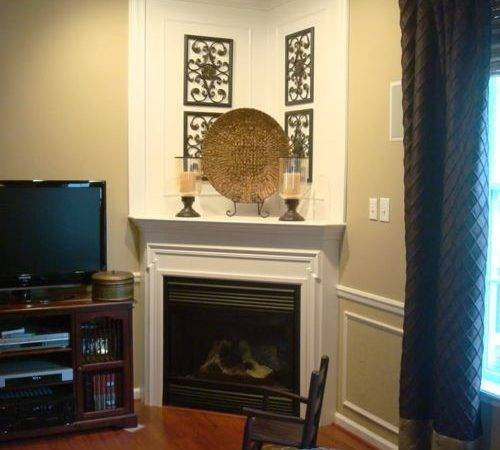 Small Corner Fireplace Houzz