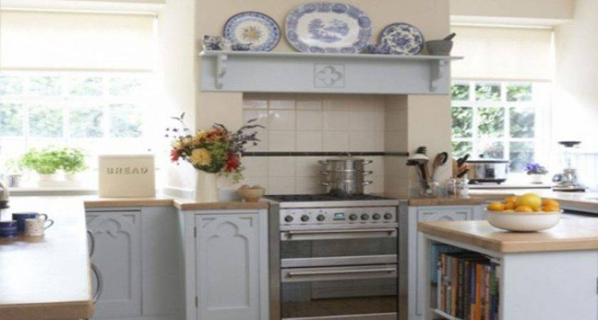 Small Cottage Kitchen Designs Stove Window