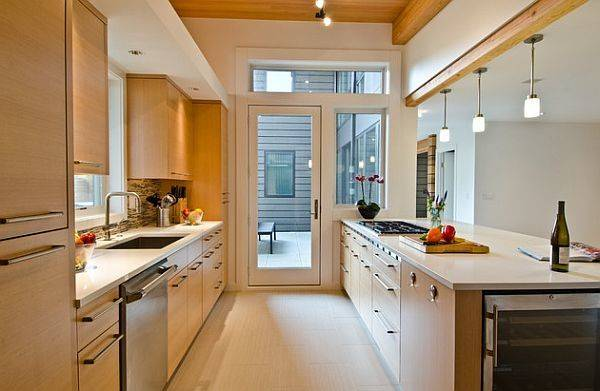 Small Galley Kitchen Dining Area Designs