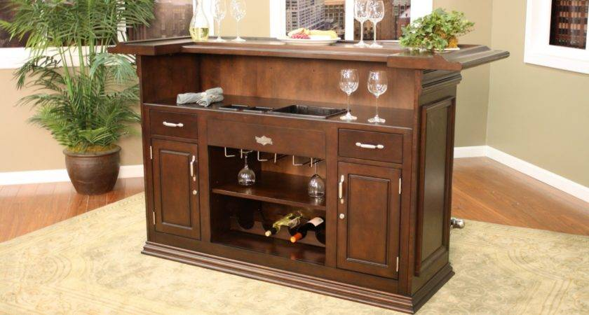 Small Home Bar Furniture Design Ideas