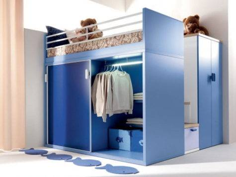 Small Kids Bedroom Storage Ideas Variety