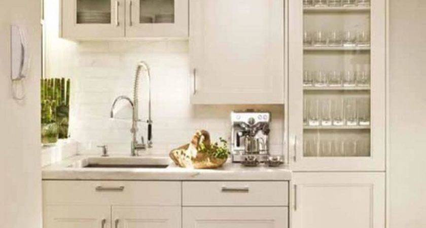 Small Kitchen Decor White Interior Color Olpos Design
