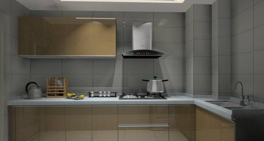 Small Kitchen Interior Design Rendering