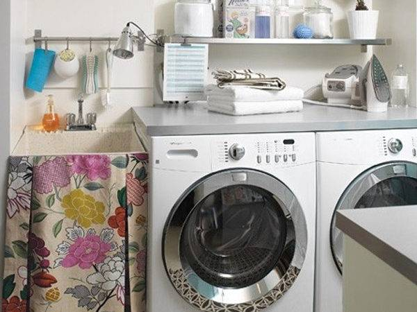 Small Laundry Room Ideas White Clean Solutions