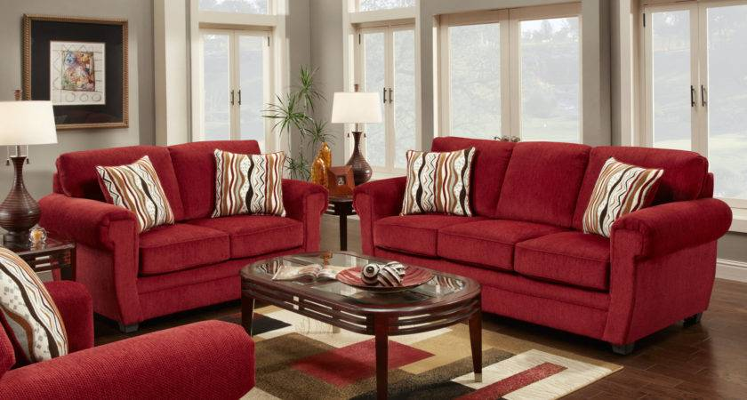 Small Living Room Decorating Ideas Red Sofa Home Combo