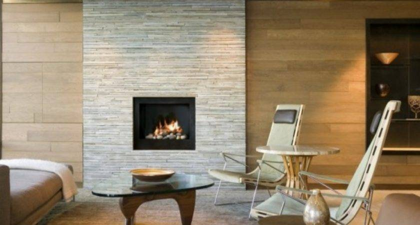 Small Living Room Designs Fireplace Modern Stone