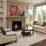Small Living Room Ideas Fireplace Color Schemes