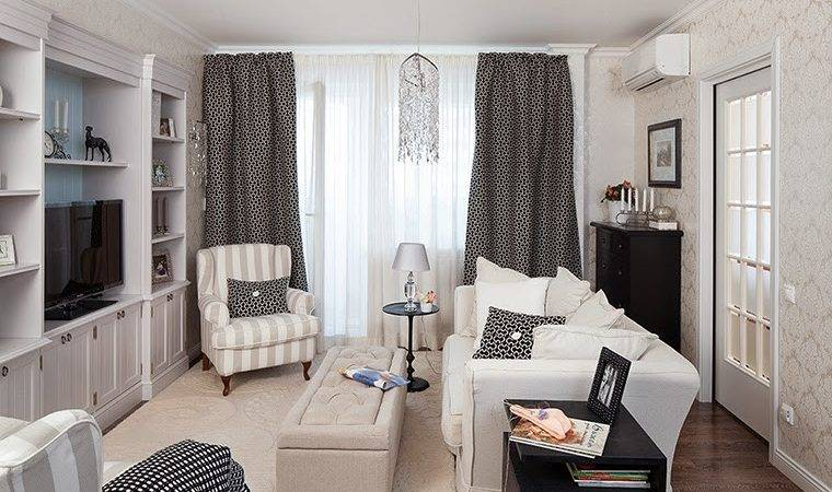 Small Living Room Ideas White Black Decorations