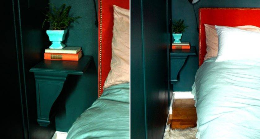 Small Nightstand Designs Fit Tiny Bedrooms