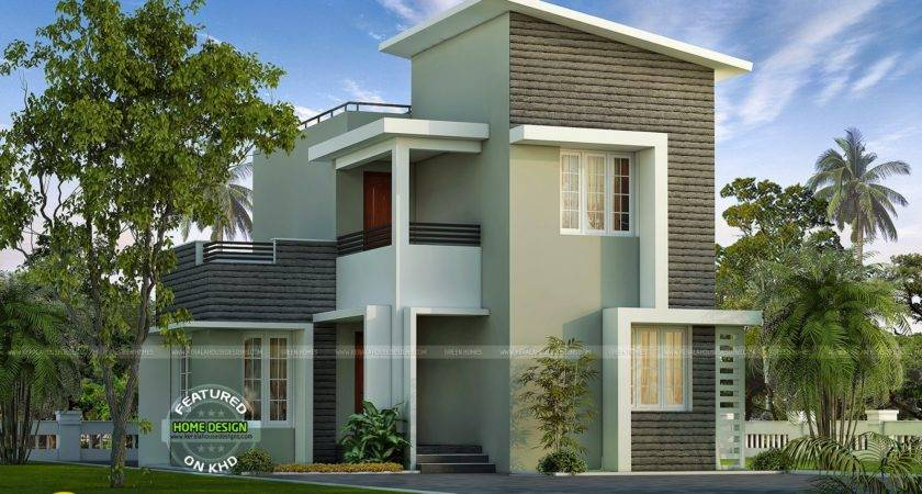 Small Plot Double Storied House Kerala Home Design