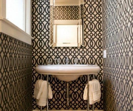 Small Powder Room Decorating Ideas Contemporary Design
