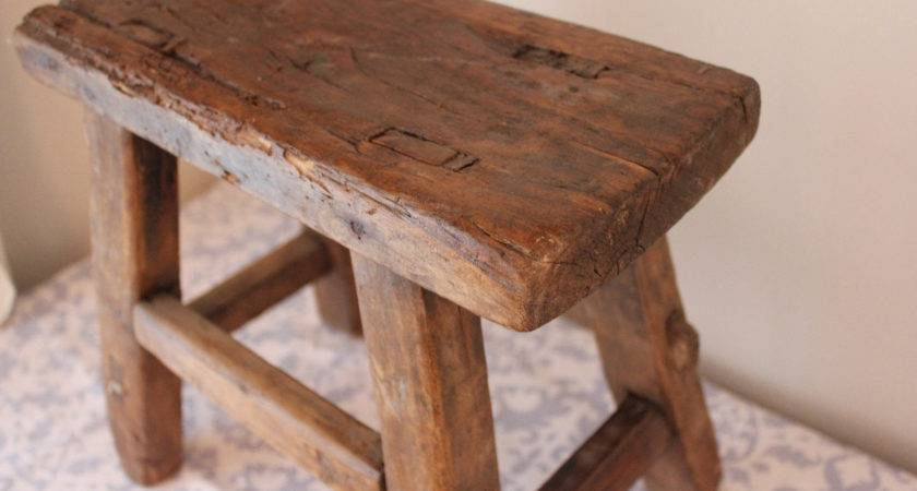 Small Rustic Reclaimed Wood Bench Landrvintage Etsy