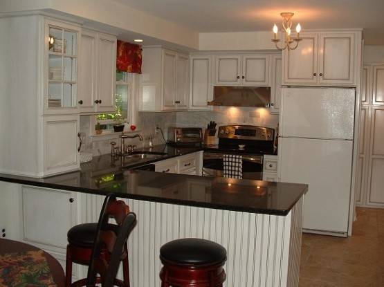 Small Shaped Kitchen Design Simple Style Home Interiors