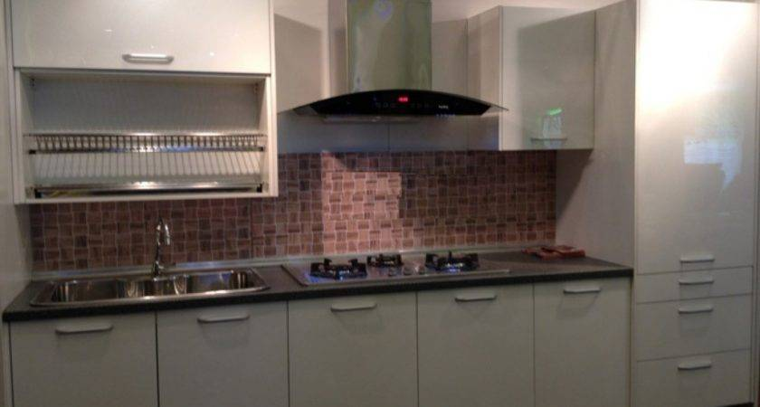 Small Space Cabinets One Wall Kitchen Designs