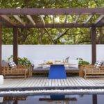 Small Spaces Decoration Simple Outdoor Pergola Designs