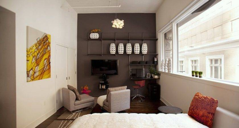 Small Studio Apartment Furniture Ideas Home Design