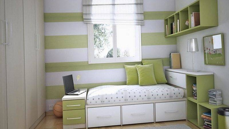 Small Study Room Design Some Very Smart Bedroom Storage