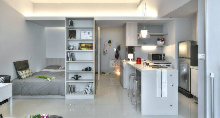 Small Taipei Studio Apartment Clever Efficient Design