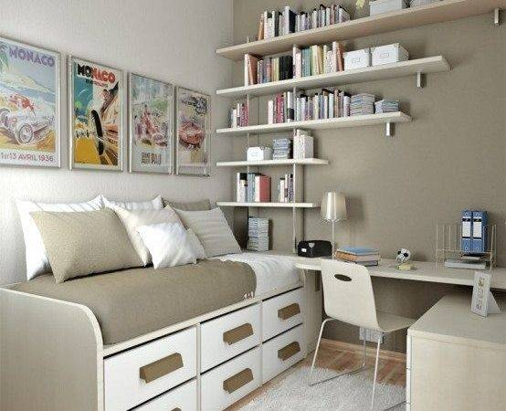 Small Teenage Bedroom Design Simple Home Style