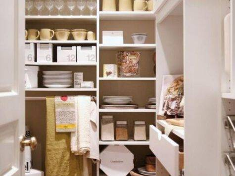 Small Walk Pantry Designs