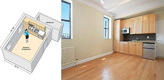 Smallest Apartment Market New York