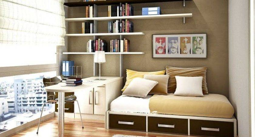Smart Home Office Bedroom Design Ideas