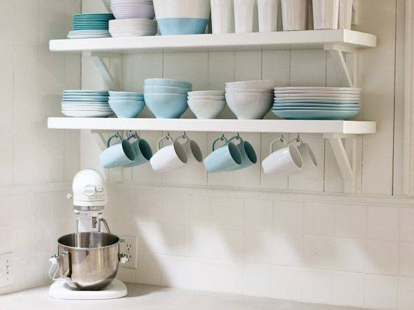 Smart Open Shelf Kitchen Tips Achieving Functionality