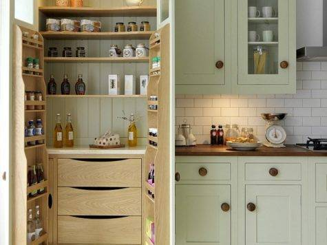 Smarten Your Kitchen Storage Fancy Pantry