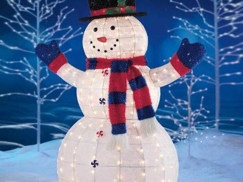 Snowman Outdoor Lights Ways Make Your Christmas