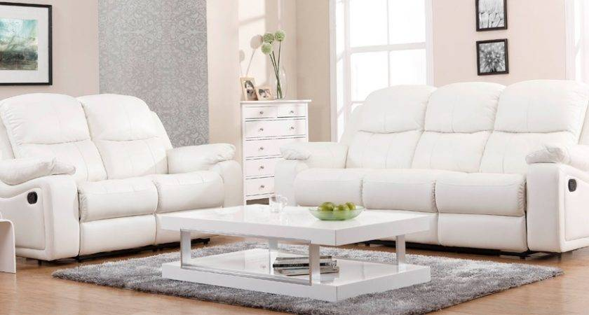 Sofa Fancy White Leather Sofas Collection