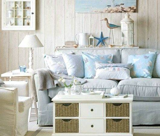 Soft Blue White Decor Ideas Turn Your Living Room