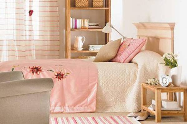 Soft Pink Bedding Girls Bedroom Ideas