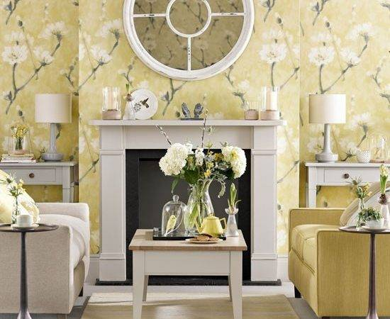 Soft Yellow Living Room Summer Ideas