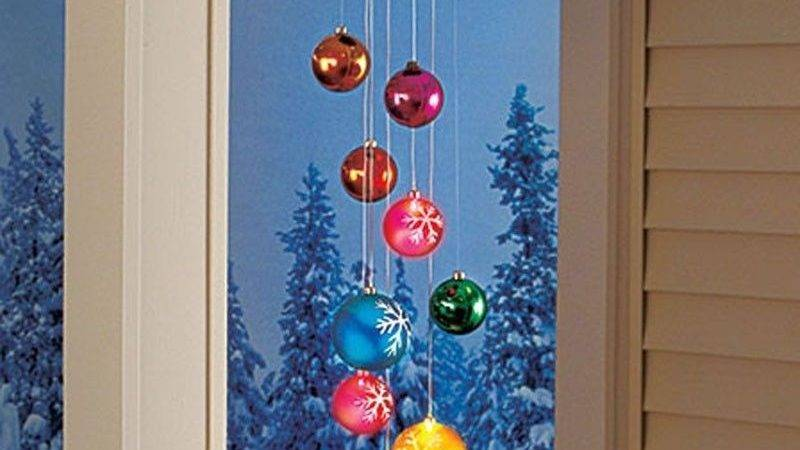 Solar Ornament Mobile Christmas Holiday Outdoor