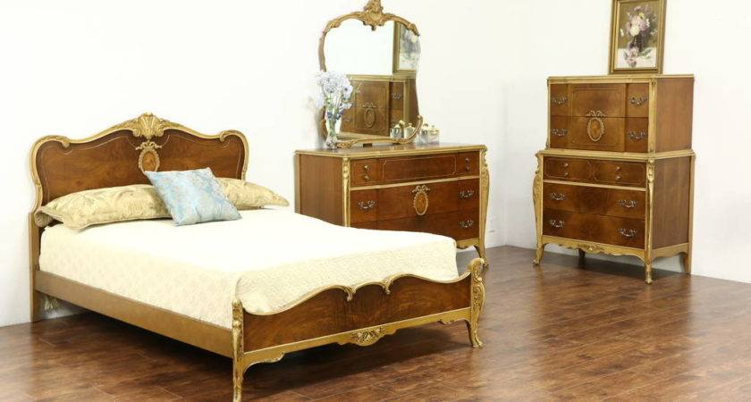 Sold French Style Vintage Bedroom Set
