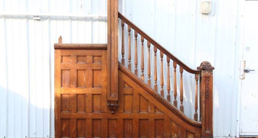 Sold Victorian Oak Archictectural Salvage Staircase