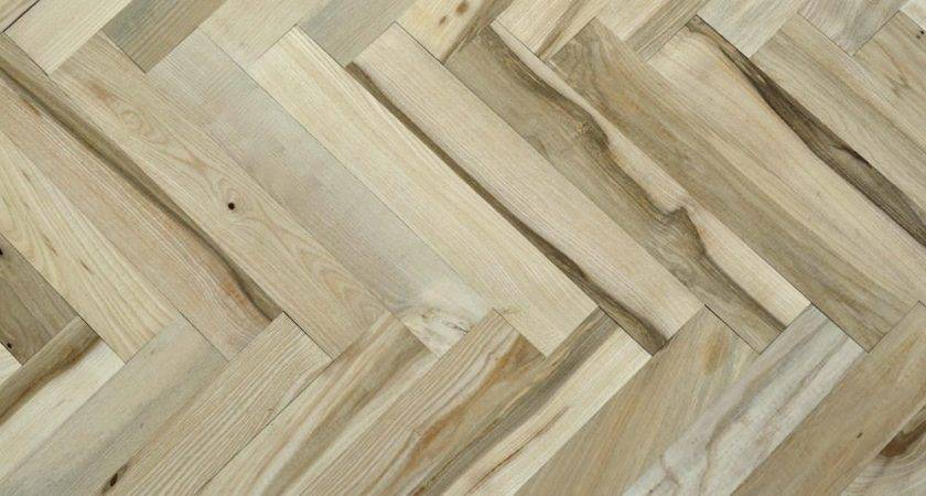 Solid Ash Parquet Unfinished Wood Flooring Direct