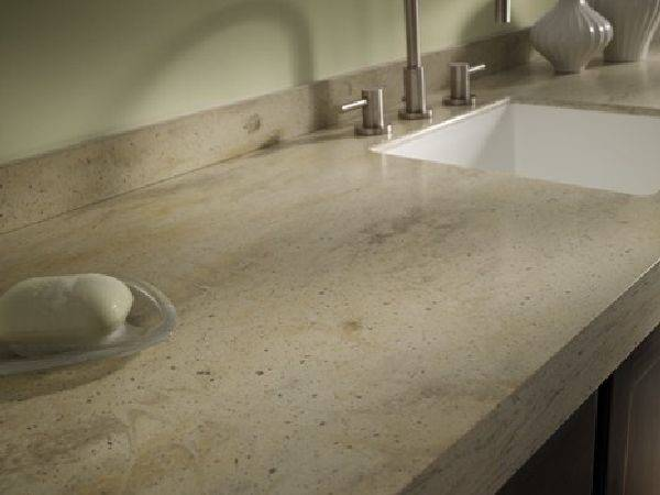 Solid Surface Countertops Kitchen Cabinets