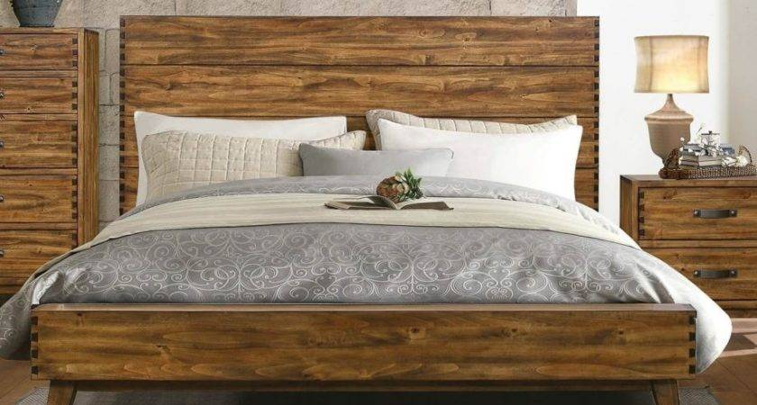 Solid Wood Platform Bed Decorate House Also Interalle