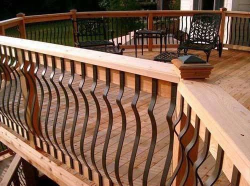 Some Good Ideas Homeowners Best Deck Railing