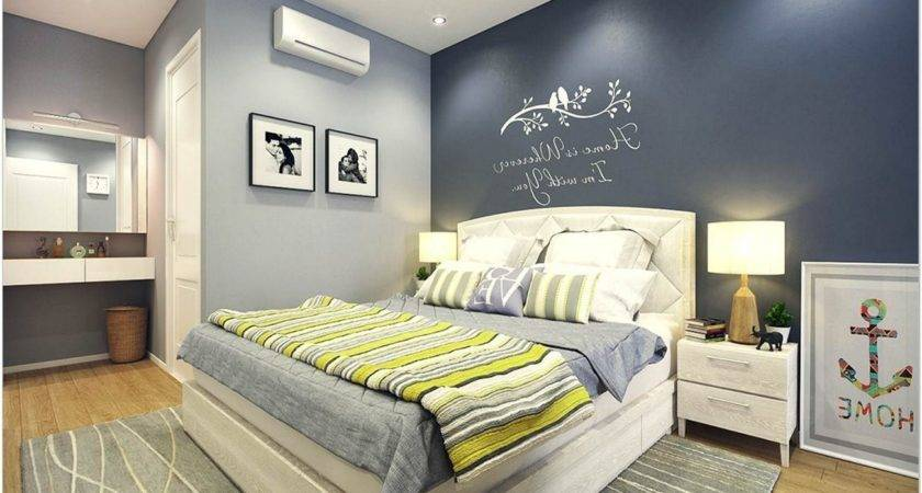 Soothing Colors Bedroom Simple Paint