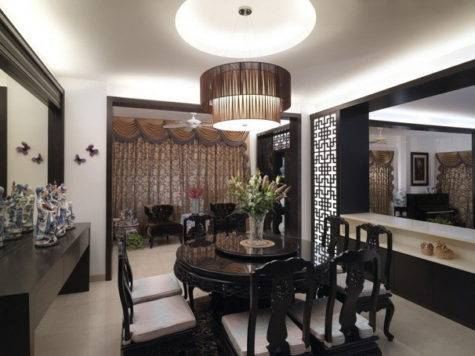 Sophisticated Black Dining Room Decor Ideas Abpho