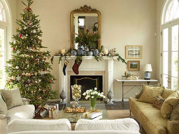 Sophisticated Christmas Cor Gold Adorable Home