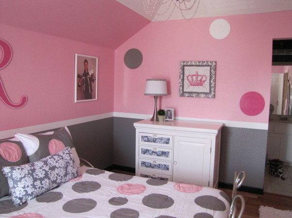 Sophisticated Pink Bedroom Create
