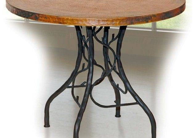 South Fork Bistro Table Mathews Eclectic