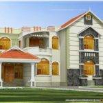 South Indian Duplex House Exterior Colors Joy Studio