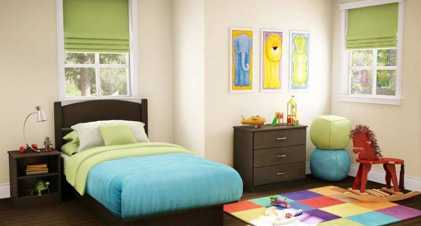South Shore Libra Piece Chocolate Twin Kids Bedroom Set