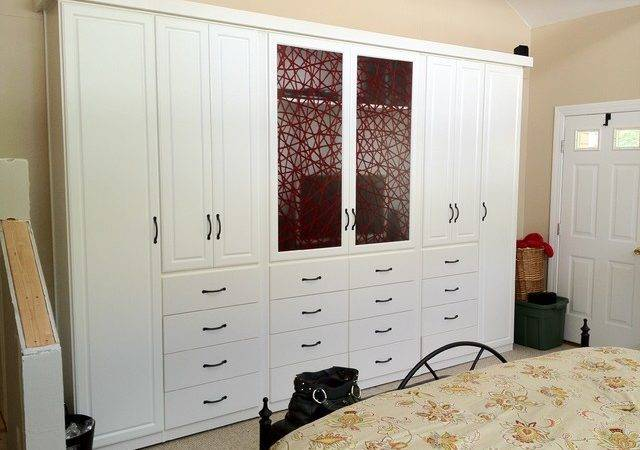 Spacious Custom Bedroom Armoire Wardrobes Contemporary